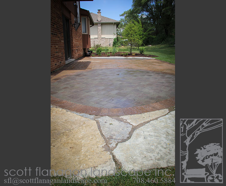 Natural Stone Patio Orland Park