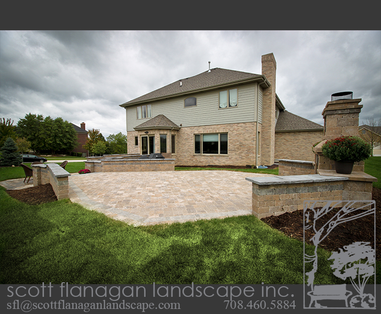 Brick Patio Mokena